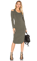 Shoulder cut out dress - MONROW