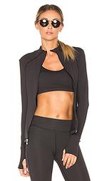 Fitted mock neck jacket - Beyond Yoga