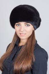Берет Мурзилка с цветком Семь Зим