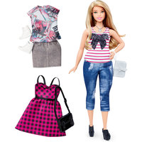 Кукла + набор одежды, Barbie Mattel