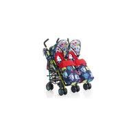 Прогулочная коляска для двойни SUPA DUPA TWIN, Cosatto, Cuddle Monster 2