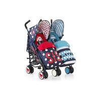 Прогулочная коляска для двойни SUPA DUPA TWIN, Cosatto, Sis N Bro 4