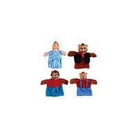 """Кукольный театр """"Три медведя"""", 4 куклы, Жирафики"""