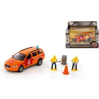 """Машина Volvo """"Аварийная служба. Горгаз"""", 1:32, со светом и звуком, Пламенный мотор"""