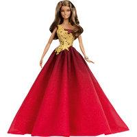 Праздничная Barbie в красном платье Mattel