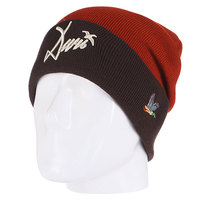 Шапка Запорожец Wildfowl Beanies Light Brown/Dark Brown