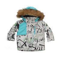 Куртка детская Quiksilver Flake Hieline White