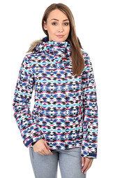Куртка женская Roxy Jet Ski Geofluo Blue Print
