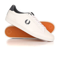 Кеды кроссовки низкие Fred Perry Hopman Leather Classic White