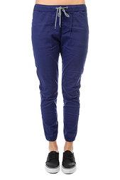 Штаны прямые женские Roxy Your J Pant Blue Print