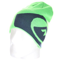 Шапка носок детская Quiksilver M&w Youth Beanie Green Gecko