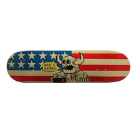 Дека для скейтборда для скейтборда Toy Machine Dead American Monster Blue/Red/Beige 31.5 x 8.125 (20.6 см)
