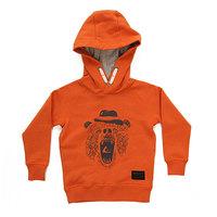 Толстовка классическая детская Quiksilver Miamiam Hood Apricot Orange