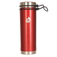 Бутылка для воды Mizu V7 Red Hammer Paint V Lid