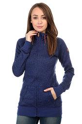 Толстовка классическая женская Roxy Resin Knit Blue Print