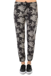 Штаны спортивные женские Billabong Trackpant Off Black