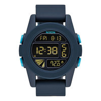 Электронные часы Nixon Unit All Dark Blue
