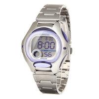 Электронные часы женские Casio Collection Lw-200d-6a Silver/Purple