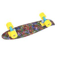 Скейт мини круизер Union Violet Toys Purple/Multi 6 x 22.5 (57 см)
