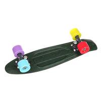 Скейт мини круизер Union Torse Ganjah Black/Green 6 x 22.5 (57 см)