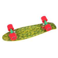 Скейт мини круизер Union Jah Ganjah Yellow/Green 6 x 22.5 (57 см)