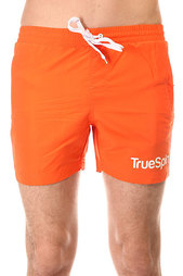 Шорты пляжные TrueSpin Swimming Shorts Splash One Orange