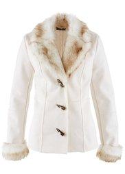 Куртка-дубленка (черный) Bonprix