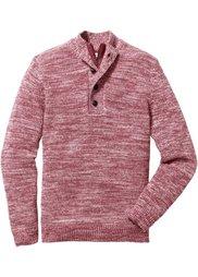 Пуловер Regular Fit (индиго с узором) Bonprix