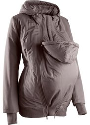 Куртка для беременных с двумя карманами (черный) Bonprix
