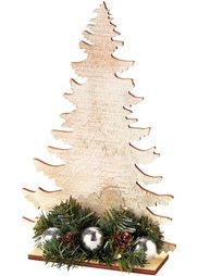 Светодиодная декорация из дерева Елка (натуральный) Bonprix
