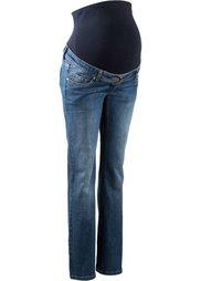 Широкие джинсы для беременных (темный деним) Bonprix