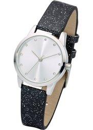 Часы на сверкающем браслете (золотистый) Bonprix