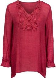 Длинная блузка (оливковый) Bonprix