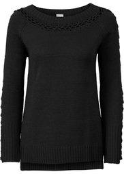 Вязаный пуловер (верблюжий) Bonprix