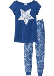 Пижама (сиреневый матовый с рисунком) Bonprix