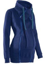 Теплая куртка для беременных и молодых мам (черный) Bonprix