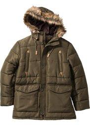 Зимняя куртка-парка Regular Fit (синий) Bonprix
