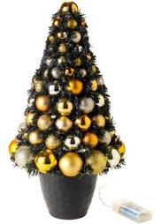 Светодиодная елка Золотой Новый Год (золотистый) Bonprix