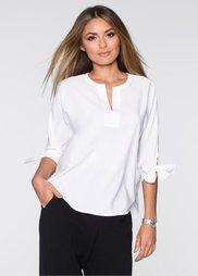 Блузка (цвет белой шерсти) Bonprix