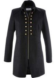 Пальто дизайна Maite Kelly (светло-серый меланж) Bonprix