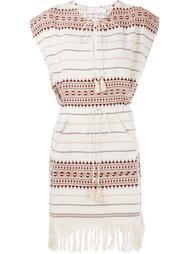 платье с бахромой на подоле Zimmermann