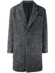 пальто с узором 'в елочку' Ami Alexandre Mattiussi