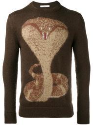 свитер с принтом кобры Givenchy
