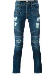 distressed skinny jeans  Hudson