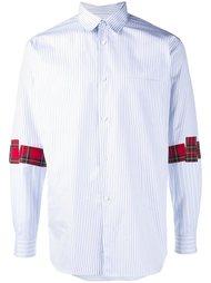 рубашка с полосками на рукавах Comme Des Garçons Shirt