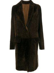 shearling coat Yves Salomon
