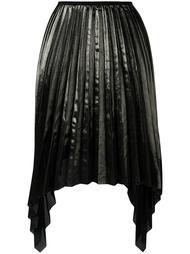 асимметричная плиссированная юбка Ssheena