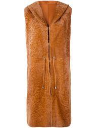 куртка с капюшоном без рукавов Drome
