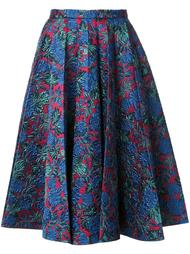 плиссированная жаккардовая юбка Rossella Jardini