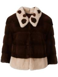 укороченная куртка с рукавами три четверти Blancha